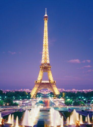 Puzzle CLEMENTONI 1000 dílků - Paříž