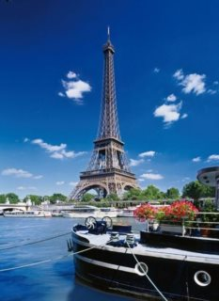 CLEMENTONI Puzzle Paříž, Francie 500 dílků