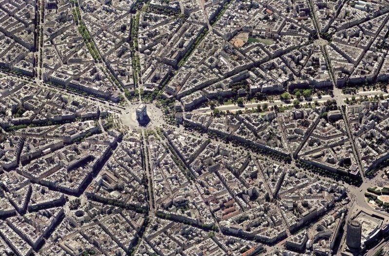 PIATNIK Puzzle Paříž - letecký pohled 1000 dílků