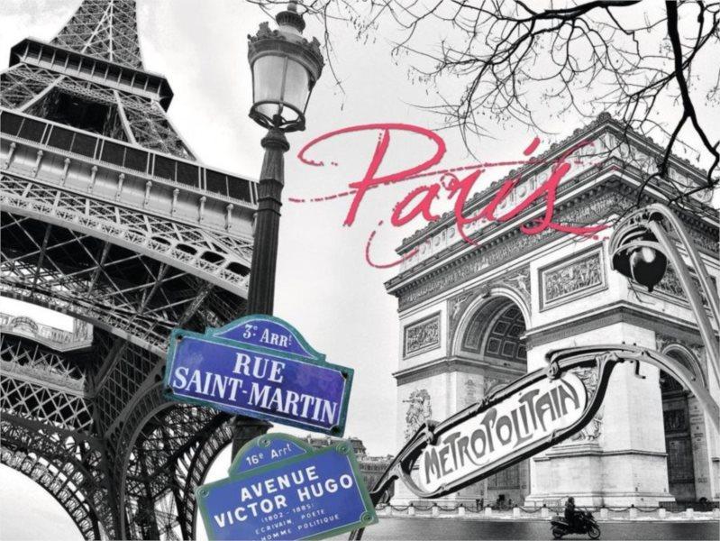 RAVENSBURGER Puzzle Paříž, má láska 1500 dílků