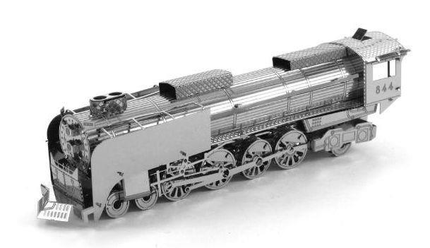 3D kovové puzzle METAL EARTH Parní lokomotiva