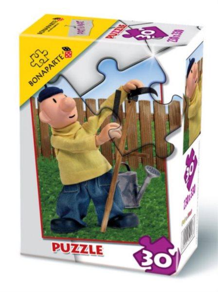 Puzzle BONAPARTE - Pat a Mat: Na zahradě 30 dílků