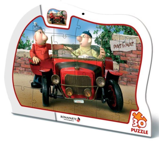 Puzzle BONAPARTE - Pat a Mat: Auto 30 dílků