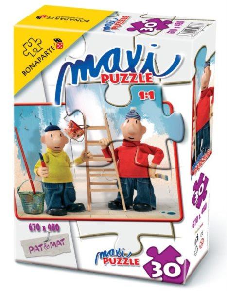 Puzzle BONAPARTE - Pat a Mat: Malíři 30 dílků