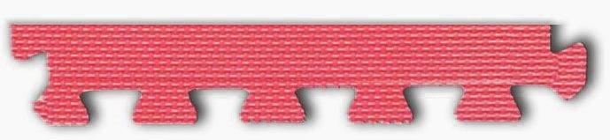Pěnové BABY puzzle - okrajový dílek červený (od 3 let)