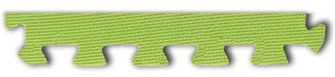 Pěnové BABY puzzle - okrajový dílek zelený (od 3 let)