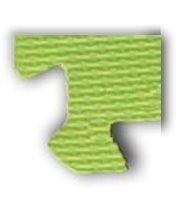 Pěnové BABY puzzle - rohový dílek zelený (od 3 let)