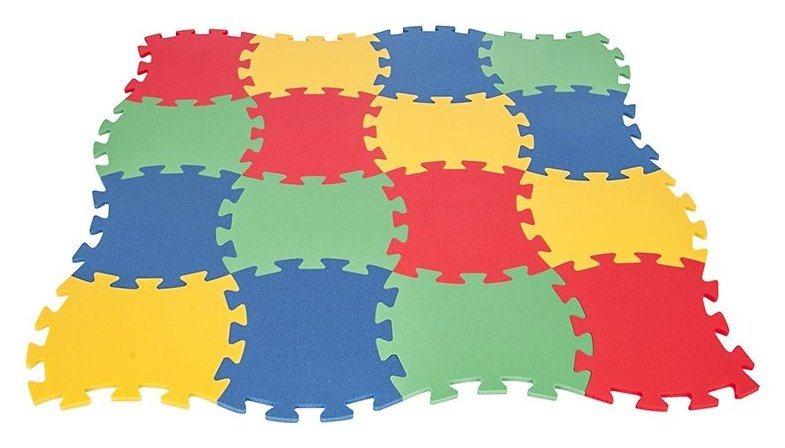 PILSAN Pěnové puzzle asymetrické 16 dílů