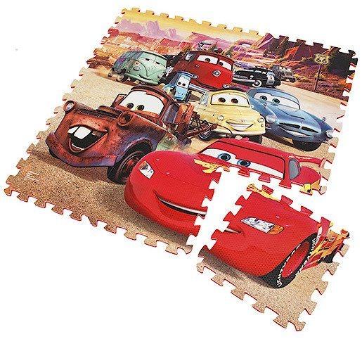 Pěnové puzzle Auta (díl 29x29cm)