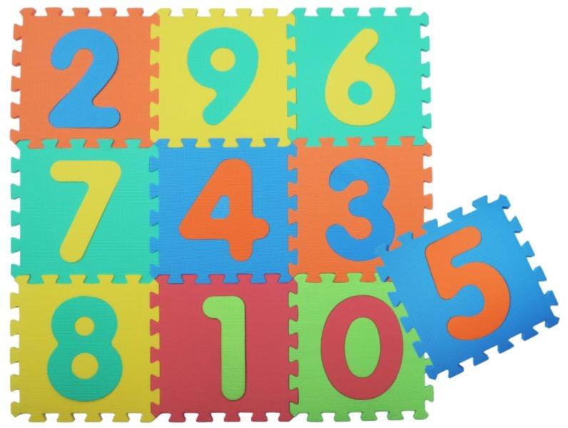 SUN TA TOYS Pěnové puzzle Čísla IV (30x30)
