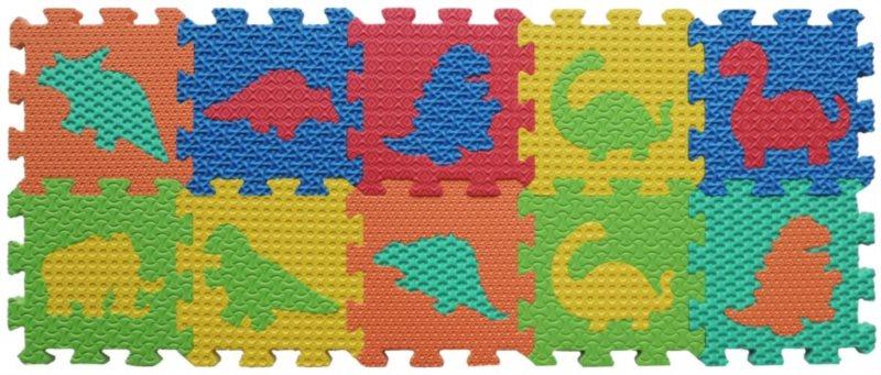 LC Pěnové puzzle Dinosauři 10 (15x15)