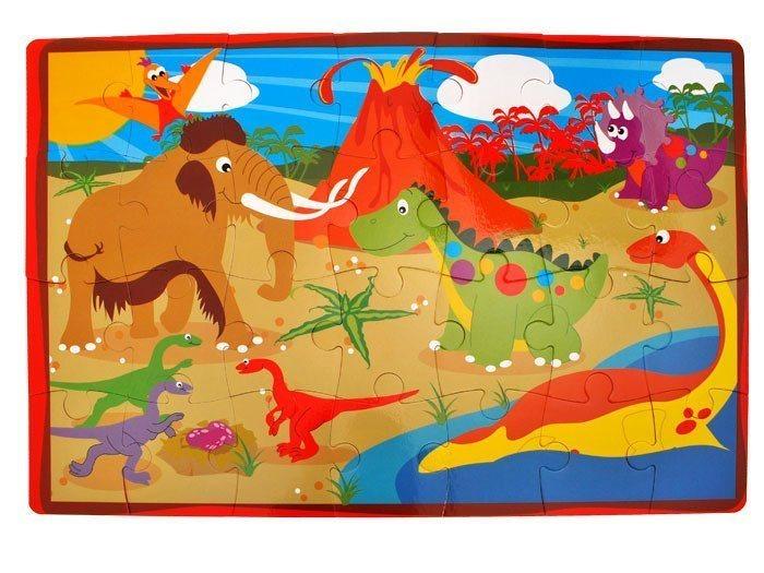 Pěnové puzzle Dinosauři 28 dílků