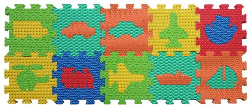 LC Pěnové puzzle Doprava 10 (15x15)