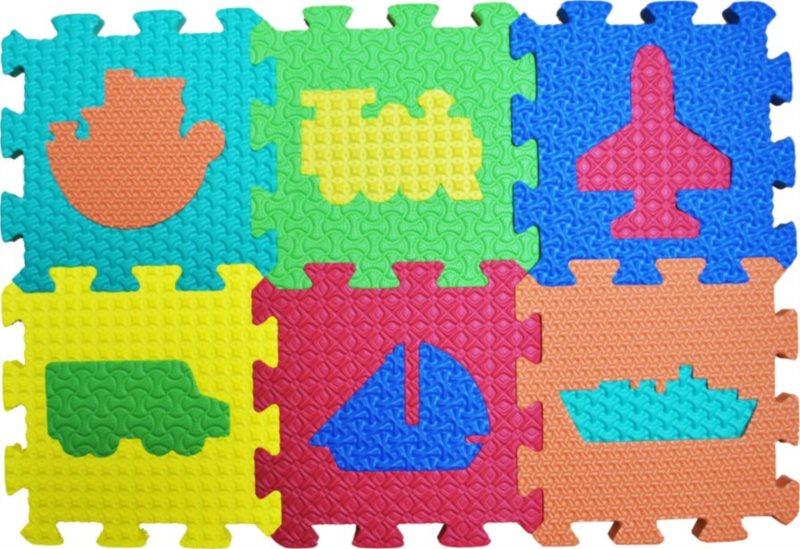 LC Pěnové puzzle Doprava 6 (15x15)