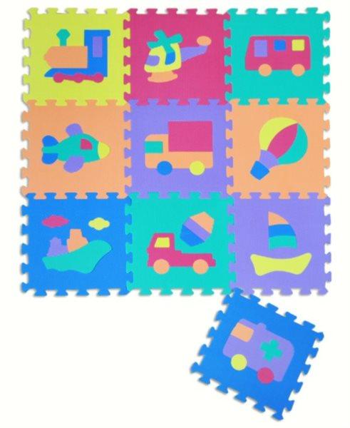 Pěnové puzzle, Dopravní prostředky I (díl 30x30cm)