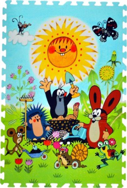 Pěnové puzzle, Krtek a kamarádi (díl 30x30cm)