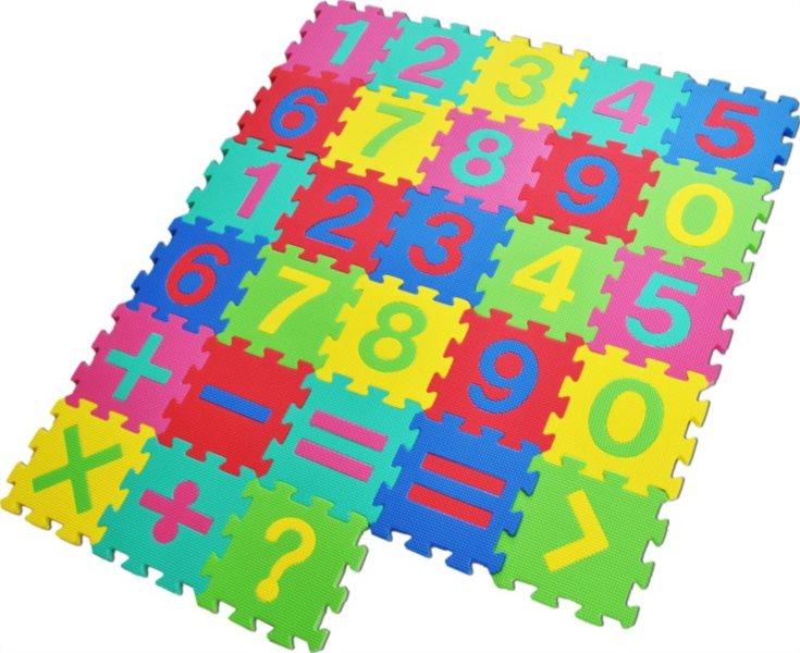 Pěnové puzzle, Matematika (díl 15x15cm)