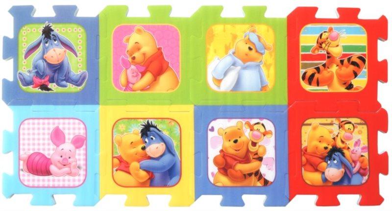 Pěnové puzzle TREFL Medvídek Pú - 8 dílů