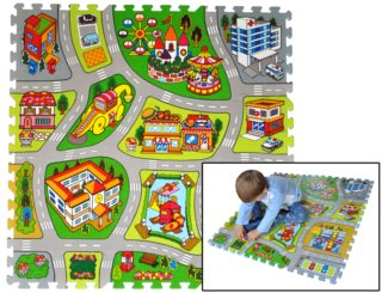 LC Pěnové puzzle Město B