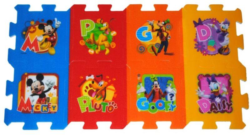 TREFL Pěnové puzzle Mickey Mouse - 8 dílů