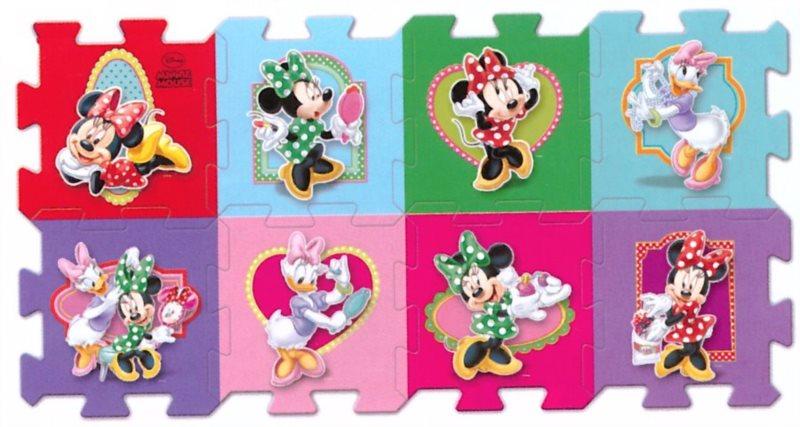TREFL Pěnové puzzle Minnie - 8 dílů