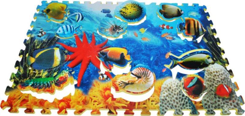 LC Pěnové puzzle s vkládačkou Moře