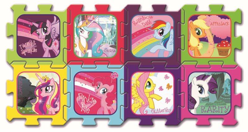 TREFL Pěnové puzzle My Little Pony