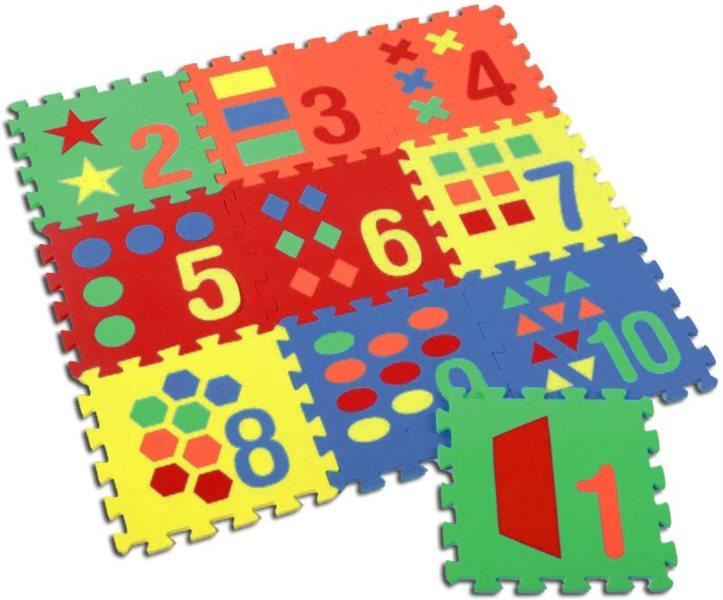 SUN TA TOYS Pěnové puzzle Počítání (30x30)