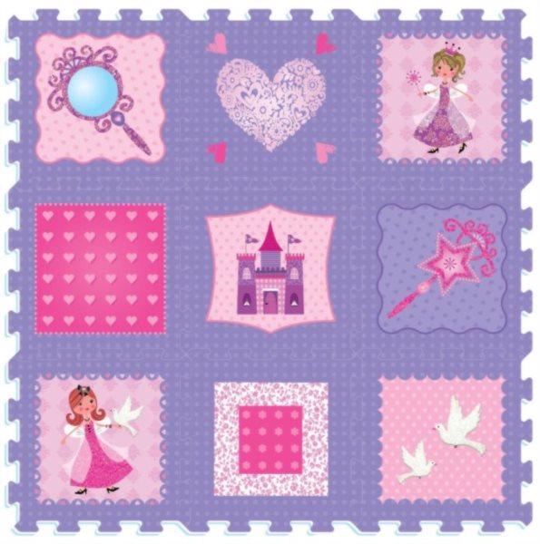 Pěnové puzzle Princezny (díl 30x30cm)