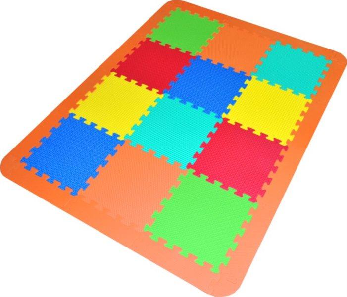 LC Pěnové puzzle struktura s okraji (30x30)