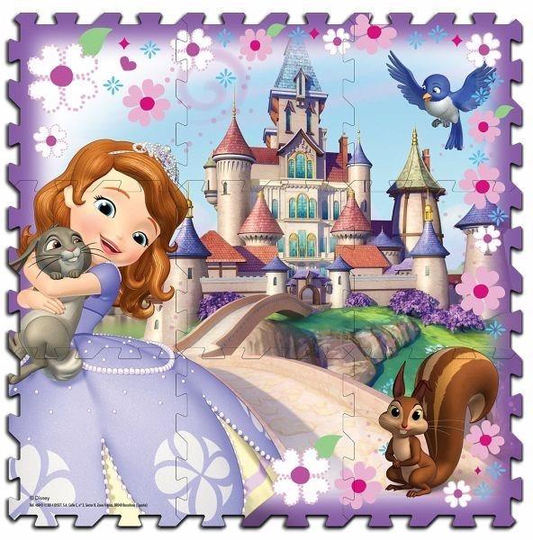 Pěnové puzzle Sofie První, pěnový koberec