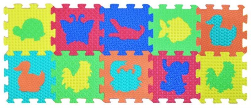 LC Pěnové puzzle Zvířata 10 (15x15)