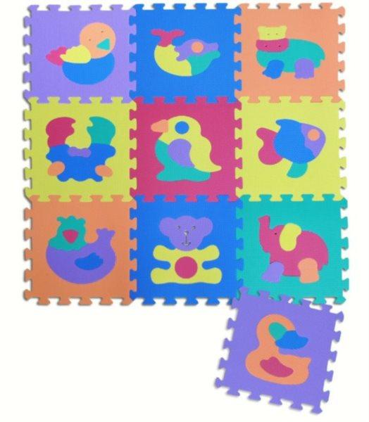 Pěnové puzzle Zvířata I (30x30)