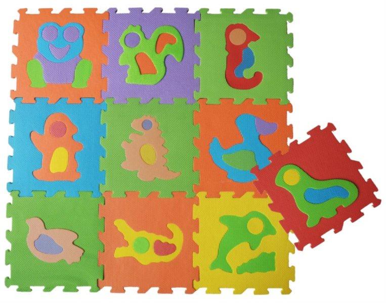 Pěnové puzzle Zvířata III (díl 30x30cm)