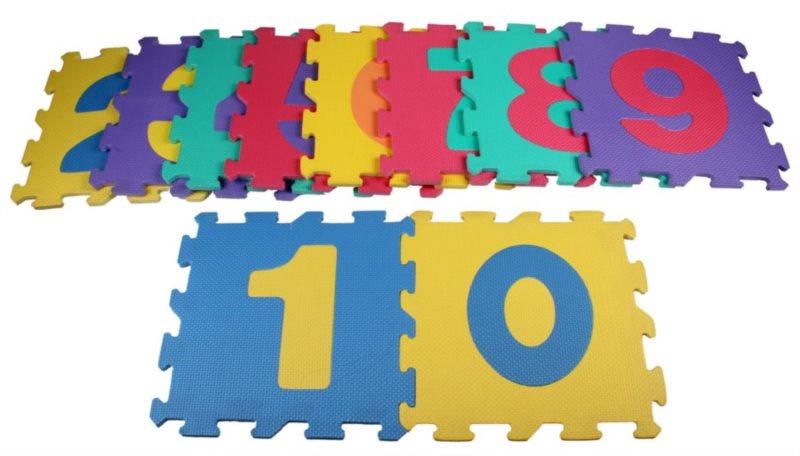 Pěnové puzzle Čísla II (30x30)