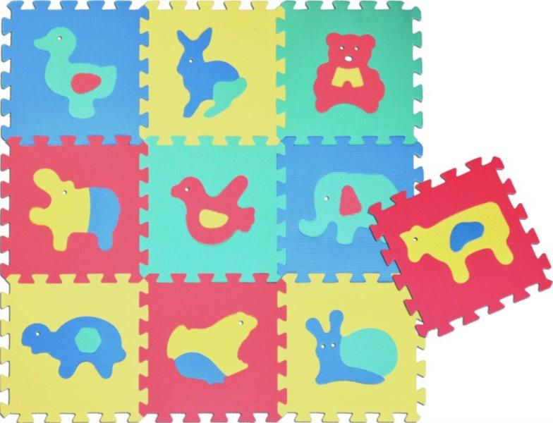 Pěnové puzzle - pěnový koberec, Zvířata VI (díl 30x30cm)