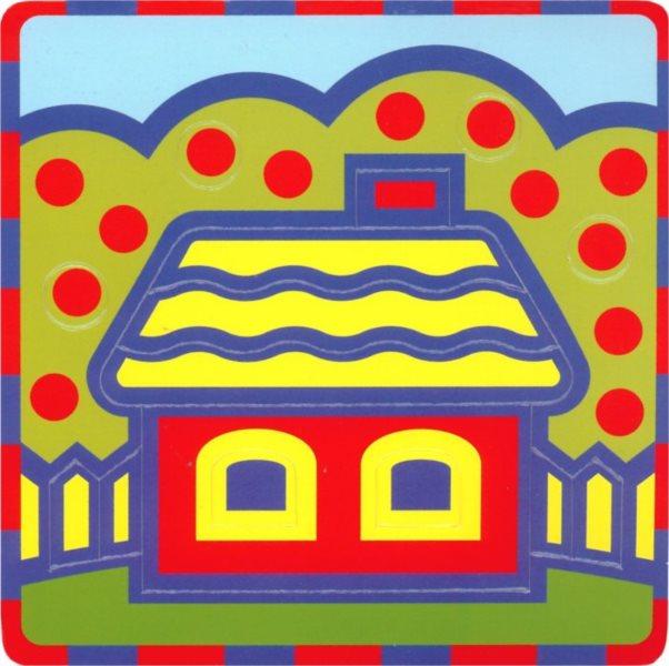 Pěnové vkládací puzzle UMBUM Domeček