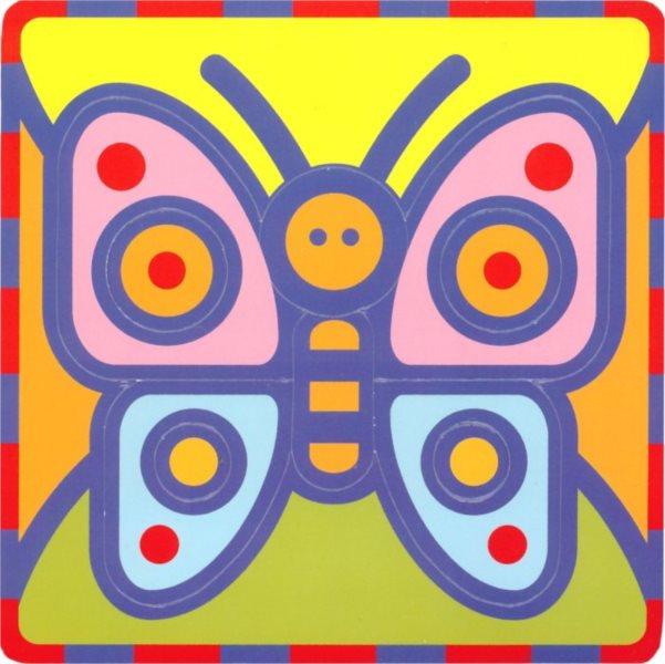 Pěnové vkládací puzzle UMBUM Motýl