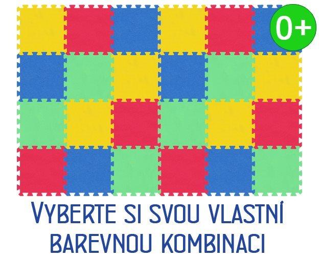 Pěnový koberec MALÝ GÉNIUS - MAXI 24 dílů, 16mm
