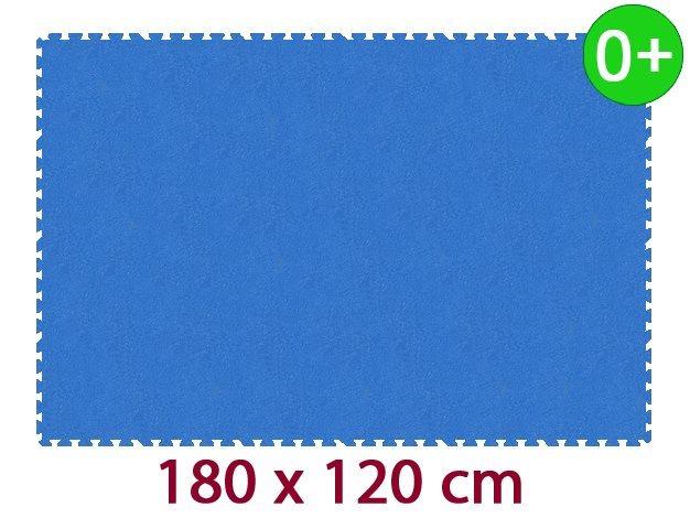 Pěnový koberec MALÝ GÉNIUS MAXI silný 0+ (modrý)