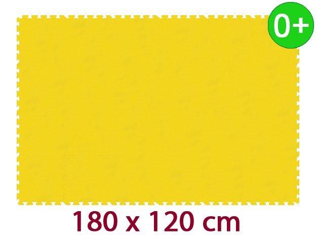 Pěnový koberec MALÝ GÉNIUS MAXI silný 0+ (žlutý)