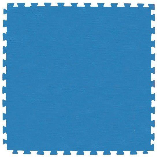 Pěnový koberec modrá 100x100x4cm
