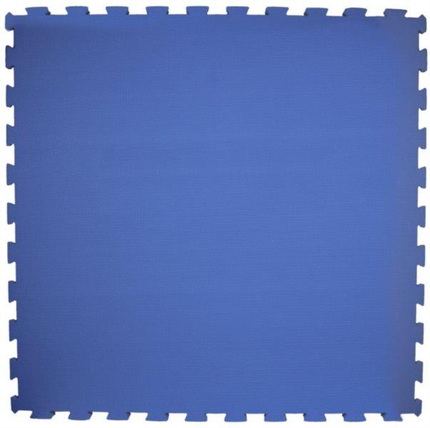 Pěnový koberec modrý 100x100x2cm