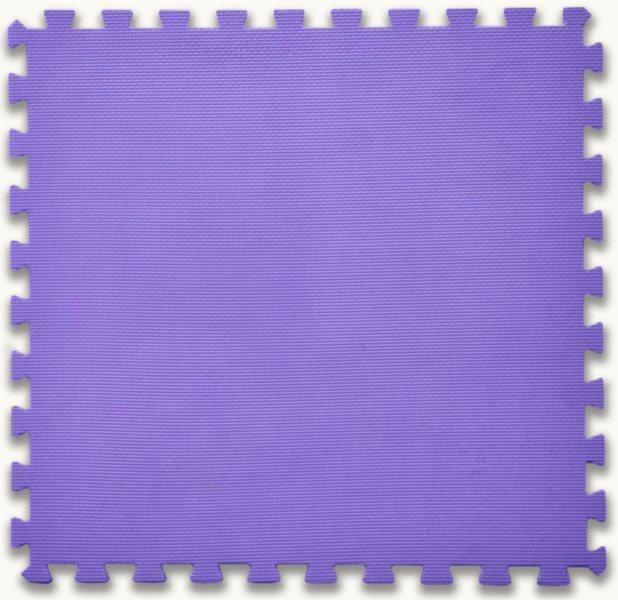 Pěnový koberec fialový - tloušťka 2 cm