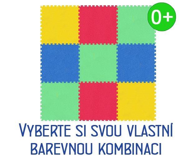 MALÝ GÉNIUS Pěnový koberec XL 9 silný 0+