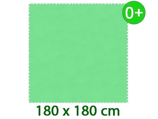 MALÝ GÉNIUS Pěnový koberec XL silný 0+ (zelený)