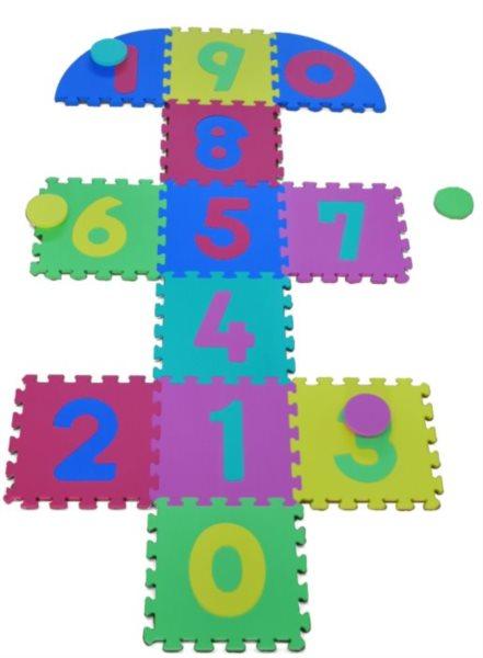 Pěnové puzzle - Skákací panák