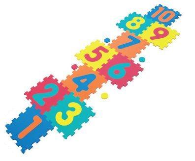 Pěnové puzzle - Skákací panák IV