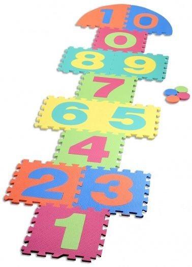 Pěnové puzzle - Skákací panák V