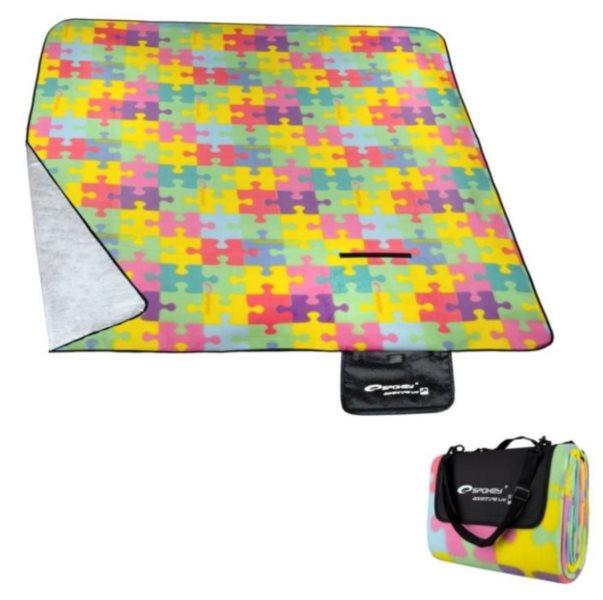 Pikniková deka s designem puzzle